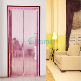 Discount portable screen doors Wholesale-New Portable Anti Mesh Insect Fly Bug Mosquito Door Curtain & Discount Portable Screen Doors | 2017 Portable Screen Doors on ... Pezcame.Com