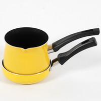 aluminum fry pot - Smoke aluminum alloy cm frying pan milk pot soup pot