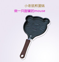 Wholesale Mini Lovely Mouse Shaped Egg Pancake Fry Frying Pan Cook Pan No Cover