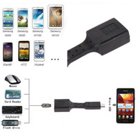 mouse card reader - Black Cable Micro USB Male to Female OTG Adapter Connect Card Reader Flash Drive Keyboad Mouse for Android Tablet PC and Phone