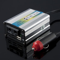 Cheap Wholesale-1pcs 12V for DC to AC 220V Adapter Car Auto Power Inverter Converter Adaptor 200W USB Big Sale