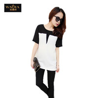 atmosphere blouses - new fashion plus size t shirt women clothing summer tops tee clothes blouses t shirts Simple atmosphere QA