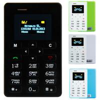Cheap Wholesale-2015 new AIEK M5 Russian keyboard Ultra Thin Mini mobile phone Low Radiation Single SIM card Arabic Keyboard cell phones