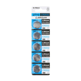 Wholesale-30PCS Lot CR2032 3V Button battery for watch,calculator Free shipping