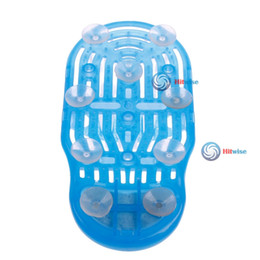 Wholesale hitwise cheaper Exfoliate Shower Foot Cleaner Scrubber Washer Bath Brush Spa Massager Slipper Most popular