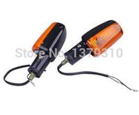 Cheap Wholesale-Motorcycle turn signals light lamp motorbike parts rear front turn indicators flashers for YAMAHA YBR125 YBR 125 2002-2015
