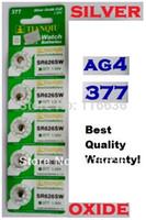 Wholesale AG4 SR626SW LR66 SR66 LR626 SR626 A TIANQIU Cell Button Batteries Silver Oxide men ladies watches