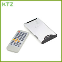 hdd media player enclosure - USB SATA HDD Enclosure RM DivX Video Player media player Capacity up to GB