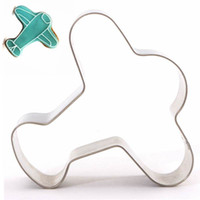 airplane cake mould - Stainless Steel Airplane Pattern Cookie Cutter Home DIY Cake Craft Kitchen Biscuit Pastry Baking Mould