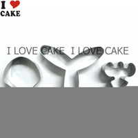 americana stars - Stainless Steel Star Cookie Mousse Fondant Cutter cortador de biscoito cortador de pasta americana cake mold metal S04