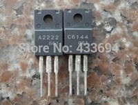 Wholesale pair SA2222 SC6144 A2222 C6144 new High Current Switching Applications