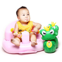 Wholesale Colors Baby Learn Seat Small Sofa Portable Baby Chair Inflatable Baby Seat Chair Kids