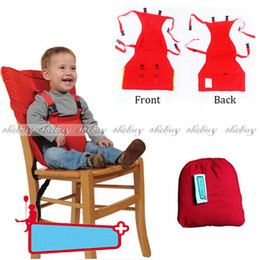 Wholesale Travel Baby Kid Toddler Feeding Portable High Chair Seat Cover Sack Harness Belt