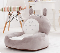 bean bag chair plush - High Quality2015 Baby Bean Bag Kids Chair amp Sofa Totoro Children s Plush Chair Cartoon Seat Sofa Cotton Toys For Children