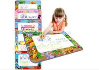 aqua box water - Water Drawing Mat Aquadoodle New Design Aqua Mat for Drawing Children s Drawing Water mat without Retail Box