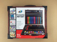 arts and crafts artists - Artoys Piece Budding Artist Deluxe Art Set Studio Art amp Craft Supplies Set in Wood Box Great Gift for Drawing and