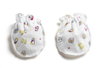baby gloves for scratching - Lovely cute month cotton mittens for babies little baby girls amp boys scratch infant new born baby mittens JXY0125