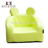 bean bag leather - High Quality Waterproof Baby Chair PU Leather Sofa Colorful Bean Bag Children Furniture Feeding Chair amp Seat Infant Nest HK437
