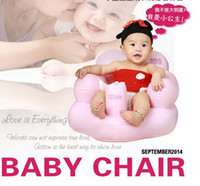 plastic stool chair - The new baby chair The small sofa Inflatable baby bath stools Baby toys Children swimming stool