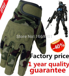 Wholesale famous tactical military gloves glove military tactic good luvas tatica militar camouflage luva airsoft gloves for hunting