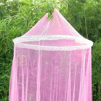 Wholesale Pc Hot Sale Summer Round Top Insect Bed Canopy Netting Curtain Dome Mosquito Net