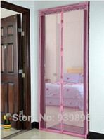 automatic screen doors - mosquito curtain magnetic soft screen door automatic closing curtains CM CM magnetic soft yarn curtain