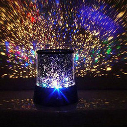 2015 Real Lava Lamp Night Yang Star's Projection Lamp New Romantic Colourful Cosmos Master Led Projector Night Gift