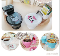 toilet bowl - Toilet Mug Coffee Cup Cereal Sundae Bowl Candy Dish Unique Great Gifts with a spoon cups caneca tazas coffee thermo mug xicara