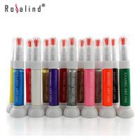Wholesale Rosalind Dual Function Nail Design Brush Flower Pin and Pull Nail Polish Liner Pen Nails Beauty