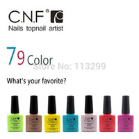 Wholesale Freeshipping New Arrival Long Lasting Gel Polish Limited Sale CNF Nail Gel Lacquer