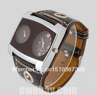 acrylic band - 10pcs Lowest Price New Quartz watch Men s TIME PU Leather Band Watch Wamage Wristwatches Dropshipping