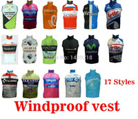 Wholesale High quality Outdoor sports cycling jerseys chaleco ciclismo windproof cycling vest sleeveless bicycle gilet styles hot