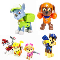 Wholesale Hot One Piece Patrulla Canina Toys Anime Action Figure Puppets Puppy Patrol Toy For Children Juguetes Brinquedos Gift To Boy