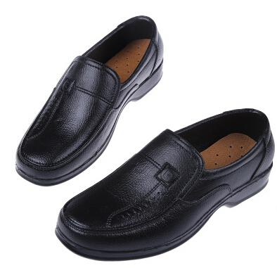 wholesale galoshes waterproof non slip imitation leather shoes men