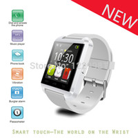 Cheap Wholesale-New U8 Waterproof Wearable Smartwatch,Camera Remote FM Radio Calculator Media Control Hands-Free Calls Anti-lost for Android iOS