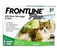 frontline plus - Frontline Plus for cats strengthen version apply to weeks or older The whole box of sell