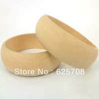Cheap Small Diameter Kids Size Unfinished Wooden Bangle Thin Bracelet Free Shipping 20pcs lot SMT-164