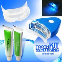 Wholesale Most Popular Tooth Teeth Whitening Whitener Kit Dental Oral Gel Care Treatment Light Brightening Whiten Set