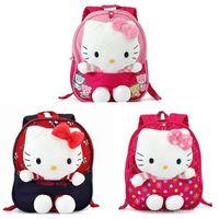 baby back packs - hello kitty back pack kids and baby toddler safety harness backpack children kindergarten school bag for girls mochila infantil