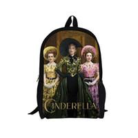 ariel backpack - Cinderella Ariel Aurora Belle Princess girls school bags lost shoe mochilae scolar for kids cute cartoon student school backpack