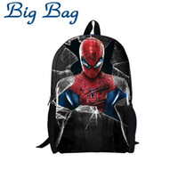 amazing backpacks - Amazing Spiderman School bag High Quality D Polyester Kids Spiderman Backpack Cartoon