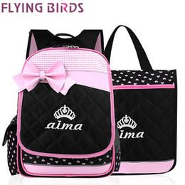 Wholesale FLYING BIRDS backpack women backpack girl school bag ladies student backpacks women s travel bags carton style LS5894fb