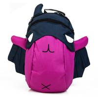 bats for kids - New Cartoon Bat Kid Backpack Children School Bag For Boy Girl Baby School Backpack mochilas infantis Drop Shipping