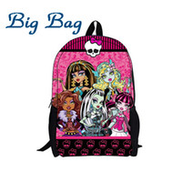 backpack definition - New Hot selling high definition D Printing monster high backpack cool men s travel bags for