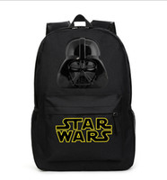 pocket books - Star Wars Children School Backpack Waterproof Book Storage Bag BLACK