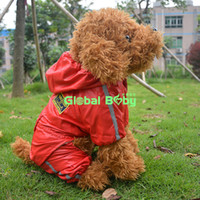 airforce jacket - New Fashion Airforce Style Pet Waterproof Jacket Puppy and Big Dog Raincoat Clothes
