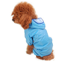 apr products - Attractive Dog Rain Clothes Waterproof Coat Jackets for Dogs Pet Products Breath Free Overall with Cap Apr
