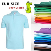 purple polo shirts - New Summer Men Polo Shirt Alligator Embroidery logo France Brand Made in Peru Short Sleeve Camisas Polo For Men EUR Size XL XL