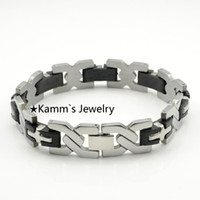 beaded germanium bracelet - Make Rubber Band Bracelet Tourmaline Bracelets Health Care Jewelry For Women Germanium Magnetic Braceletes Bangles Cross KB006