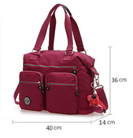 Wholesale New Waterproof Nylon Nappy Bags Large Capacity Mummy Bag High Quality Baby Diaper Bags Handbags Colors